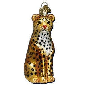 Leopard Ornament