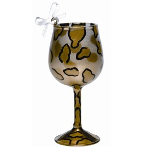 Lolita Mini-wine Wine Glass Ornament, Leopard