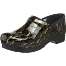 Dansko Women's Professional Croco Tigers Eye Clog