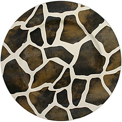 ChargeIt! by Jay Giraffe Round Charger Plates (Pack of 4
