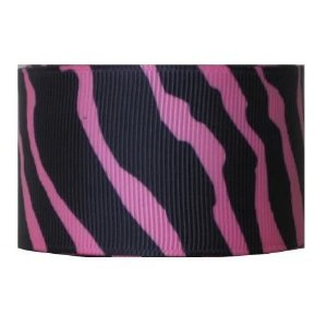 Grosgrain Ribbon Zebra Animal Print 1.5 Inch 2 yards- Many Colors