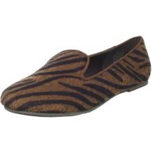 Wanted Shoes Women's Carlton Slip-On Loafer Tiger