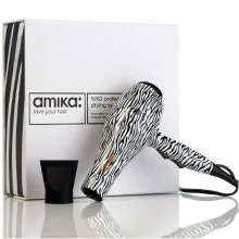 Amika NRG Professional Hair Dryer – Zebra