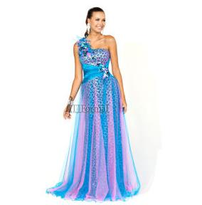 Mori Lee Flaunt 2012 Cheetah Prom Dress
