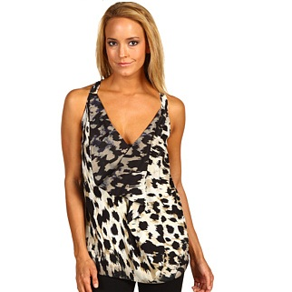 Robert Rodriguez Animal Print Halter Top