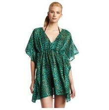 Echo Design Women's Cheetah Butterfly Tunic Dress