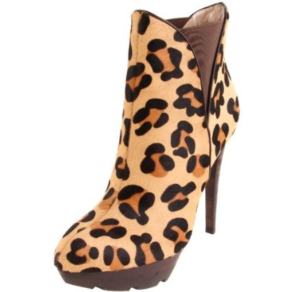Jean-Michel Cazabat Women's Leopard Haircalf Boot