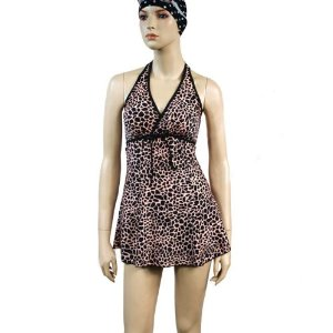 HOTER® Perfect Slim Belly & Waist Cover One Piece Swimsuit Leopard