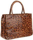 HOBO INTERNATIONAL Leopard Print Tote Bag