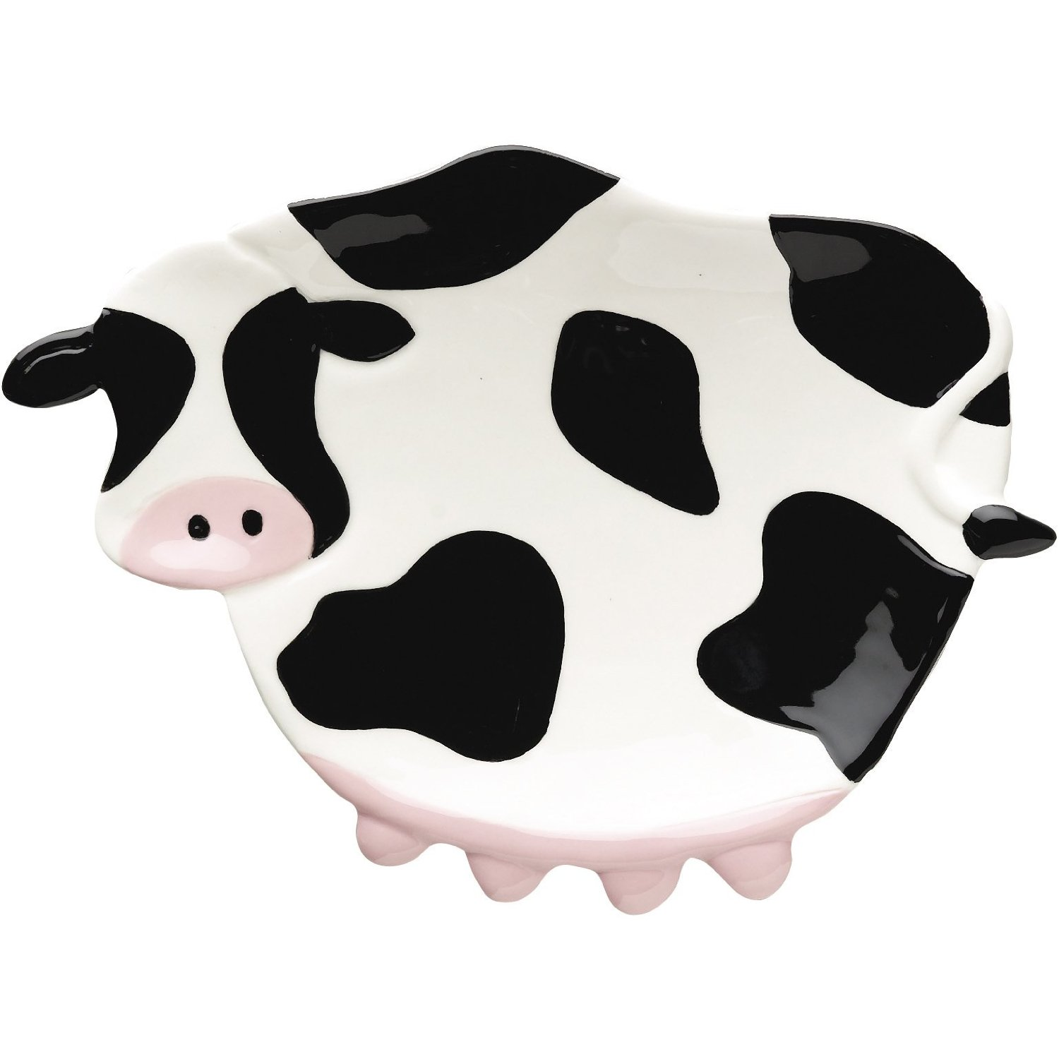 Boston Warehouse Cow Print Spoon Rest