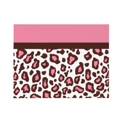 Leopard Animal Print Invitations (10-pack)