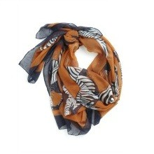 Zebras Animal Print Scarf