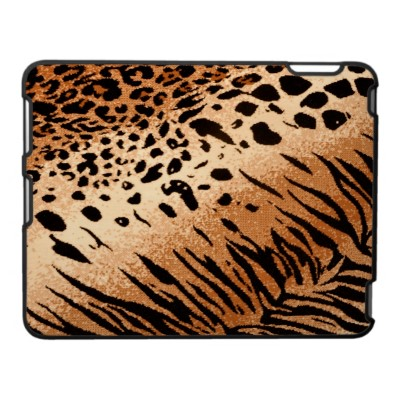 Cheetah and Leopard Animal Print iPad Case