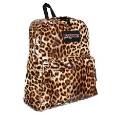 JanSport High Stakes Leopard Backpack