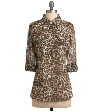 A New Purr-spective Leopard Collared Shirt