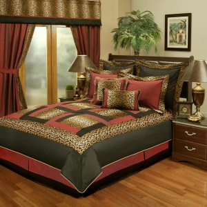 Sherry Kline Jungle Cheetah 8-Piece Comforter Set
