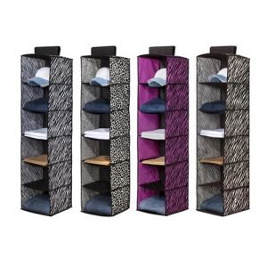 Space Living 6 Animal Print Sweater Shelf Organizer