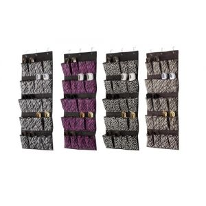 Space Living Animal Prints Over the Door Shoe Organizer