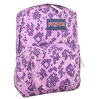Jansport Snake Animal Print SuperBreak Backpack