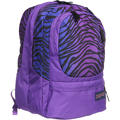 Jansport Air Cure Zebra Purple Backpack
