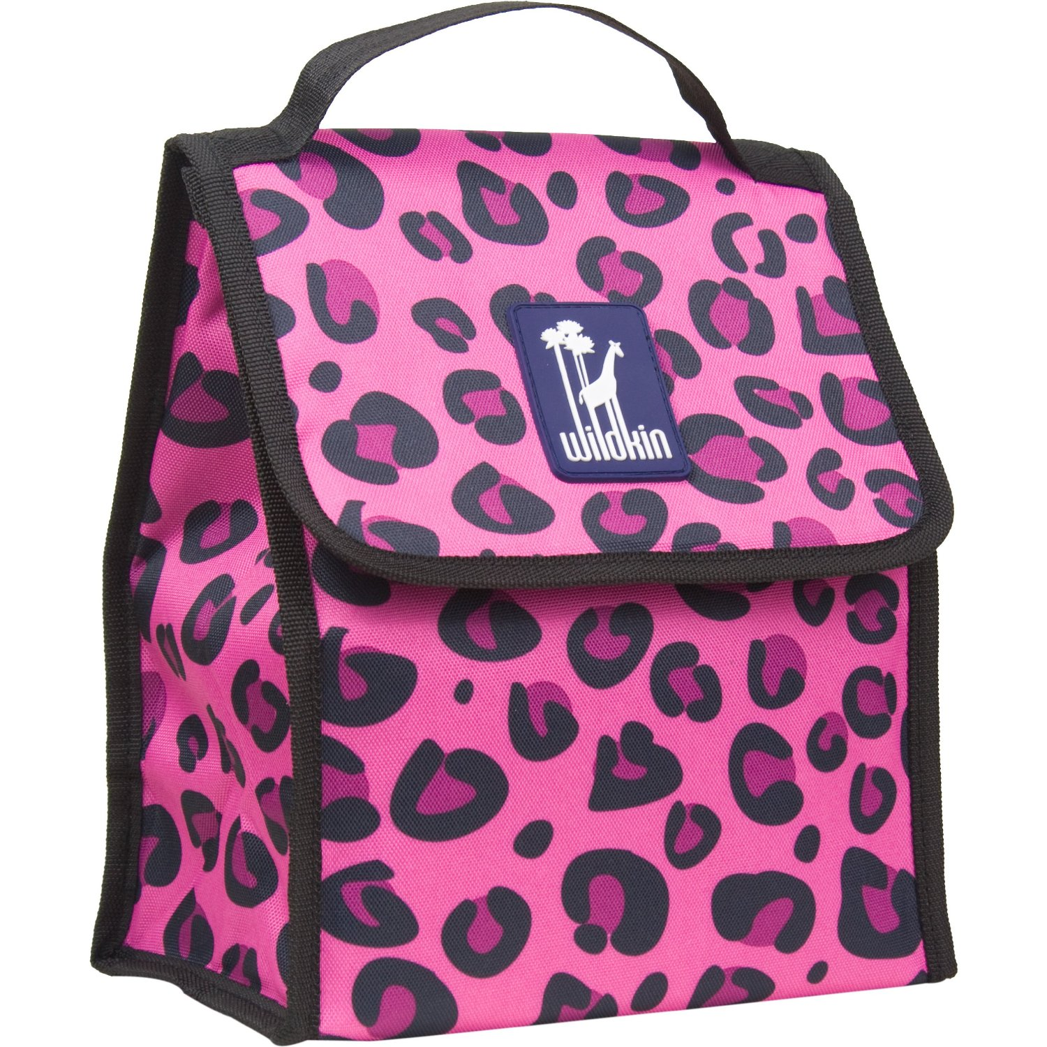 Wildkin Pink Leopard Munch 'n Lunch Bag