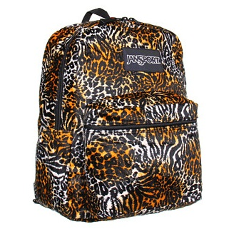 Jansport Inner Beast Brown Tiger Backpack