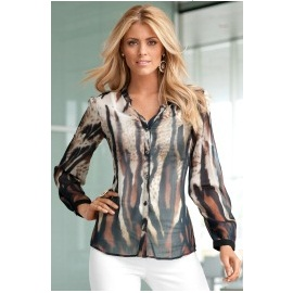Tiger Animal Print Blouse