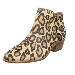 Sam Edelman Women's Leopard Print Ankle Boot