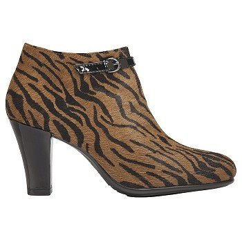 Aerosoles Tiger Print Calf Hair Women's Angle Boots