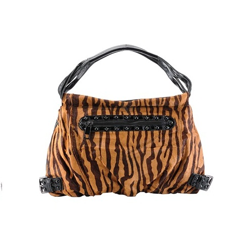Tiger Animal Print Hobo Bag