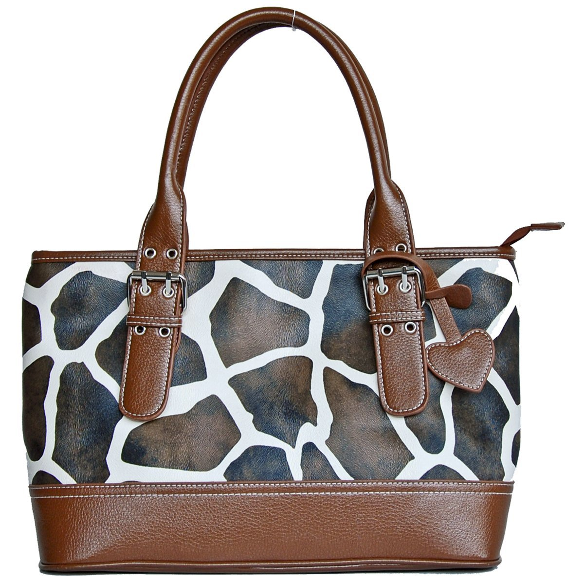 Brown Giraffe Shoulder Bag