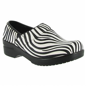 Easy Street Zebra Print Slip-On Shoes