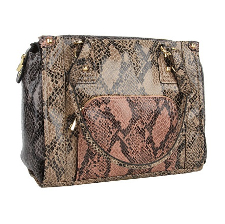 Jessica Simpson Snake Print Everyday Satchel