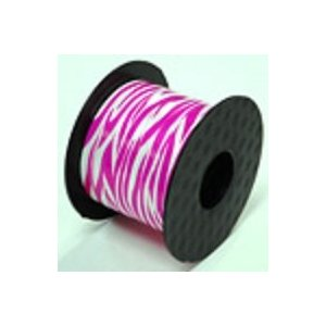 Pink Zebra Print Ribbon – 200 Yards