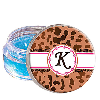 Ribboned Cheetah Lip Gloss