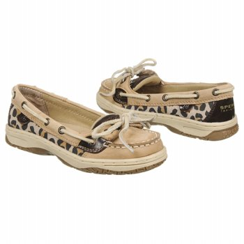 Sperry Top-Sider Angelfish Leopard Animal Print Kids' Shoes
