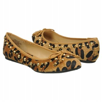 Wanted Leopard Print Pony Flat Shoes