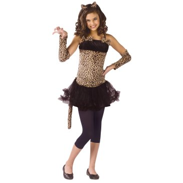 Wild Cat Child Leopard Costume