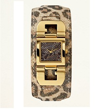 GUESS Iconic Animal Cuff Watch