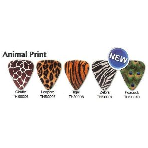 Animal Print Guitar Picks