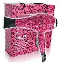 Iso Beauty Professional Blow Dryer Ionic 2000W Limited Edition Hot Pink Leopard