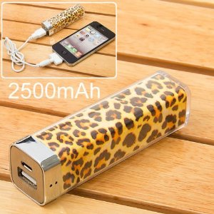 Leopard Power Charger Battery Bank for iphone 4/4s, other cell phones and Camera