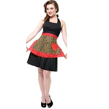 Leopard Lounge Marilyn Vintage Apron