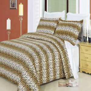 Cheetah 100% Egyptian Cotton Duvet Cover set