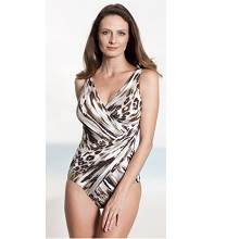 Miraclesuit Animal Print Swimsuit