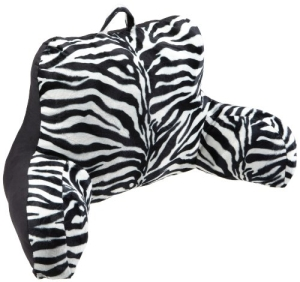 Brentwood Zebra Printed Bedrest Pillow