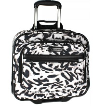 Kenneth Cole Wheeled Overnighter Carry On – Snow Leopard