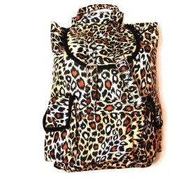 Hipster Rucksack Style Backpack – Fierce Cheetah Animal Print Style