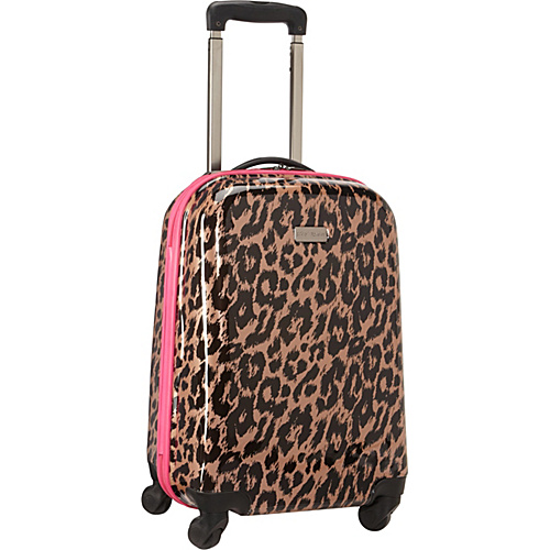 Betsey Johnson Luggage Animal Print Cheetah 20″ Hardside Spinner Luggage