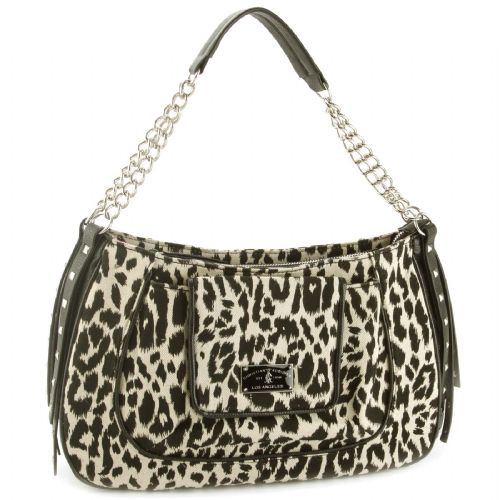 Christian Audigier Handbags Shoulder Bag Snow Leopard